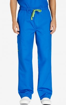CPM-0601R Crocs James Men's Elastic Waist Cargo Pant - Royal Blue