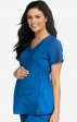 8459 Med Couture Plus One Maternity V-Neck Scrub Top - Black