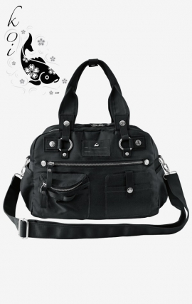 A121 Black koi Scrubs Utility Bag - Fashion Organized - Limited Edition