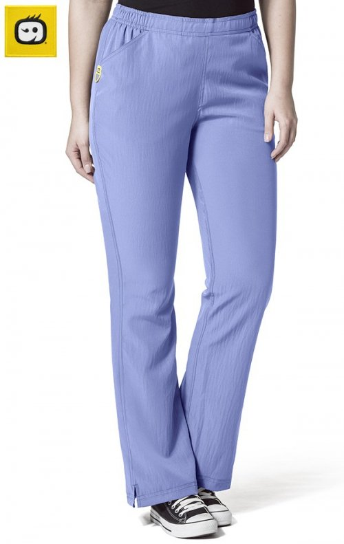 5205 Wonderwink Plus Tummy Control Flare Leg Scrub Pants