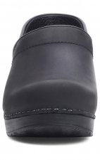 The Professional by Dansko (Women's) - Black Oiled Leather