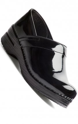 The Professional by Dansko (Women's) - Black Patent Leather