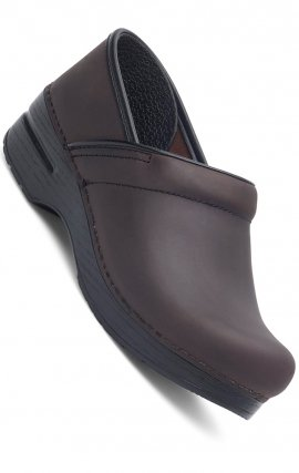 NARROW PRO by Dansko (Women's) - Antique Brown Oiled Leather