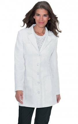 439 koi Veronica Epaulet Lab Coat