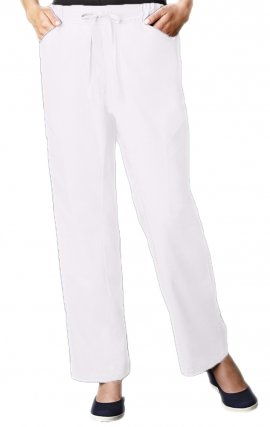 P1011 S White MOBB Shannel Pant