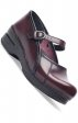 Cordovan Cabrio Leather Dansko Marcelle Clogs