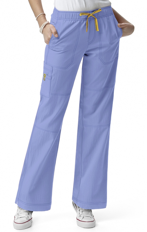 5214t Tall Wonderwink Four Stretch Cargo Scrub Pants
