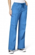 5108 WonderFlex Faith Multi-pocket Cargo Scrub Pants - Aqua