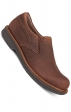 Jackson Slip-Ons in Brown Antiqued Calf Leather - Dansko Men's