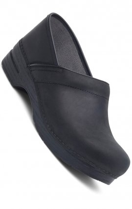 Women's Pro XP Dansko Clogs - Black Oiled Leather