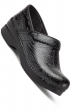 The Professional by Dansko (Women's) - Black Tooled Leather