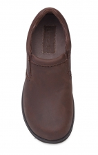 Men's Wynn Slip-Ons in Brown Distressed Leather - Dansko