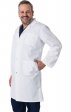 4500 Greentown Classix Unisex Snap Front Full Length Lab Coat 42""