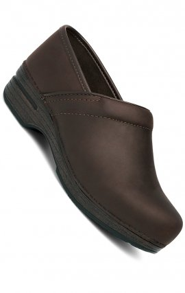 Brown Oiled Leather - Men's Pro XP Dansko Clogs