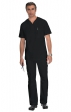 654 koi Men's Jason Scrub Top