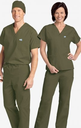 *FINAL SALE 3XL 306-306 MOBB Unisex Drawstring Scrub Set