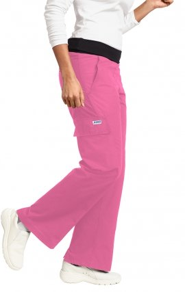 *FINAL SALE 416P DUSTY ROSE MOBB Flexi Waist Scrub Pant