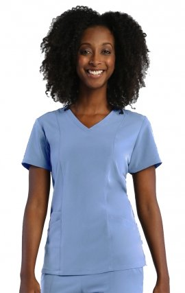 1901 Pure Soft by Maevn 3 Panel V-Neck Scrub Top