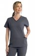 1902 Pure Soft by Maevn Modern V-Neck Scrub Top