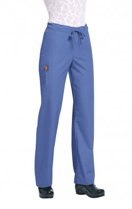 "G3702 Orange by koi - Unisex Huntington Pant - Regular-31"" - (Women's View)"