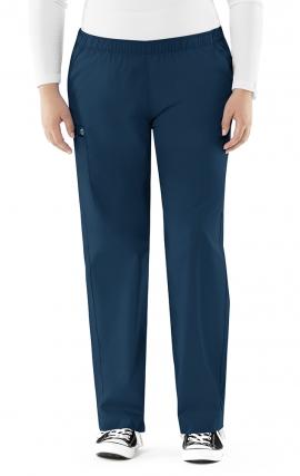 "501 WonderWork Elastic Waist Cargo Scrub Pants Classic Fit and True-Plus Fit - Inseam: Regular 31"""