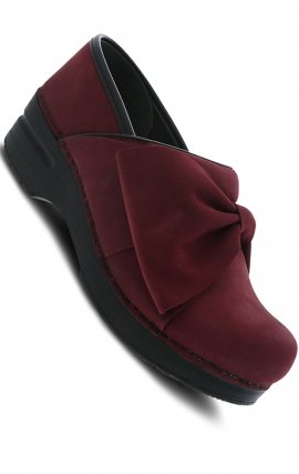 Pro Bow Wine Milled Nubuck - The Professional by Dansko (Women's)