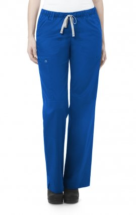 504 WonderWORK Women's Straight Leg Cargo Scrub Pant - Regular 31""