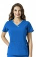C12510 Carhartt Cross-Flex Active Contrast Trim Y-neck Scrub Tops