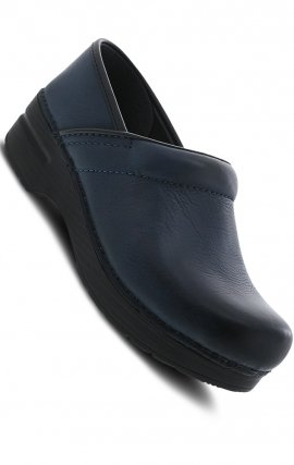 Navy Burnished Nubuck Leather - The Professional by Dansko (Women's)