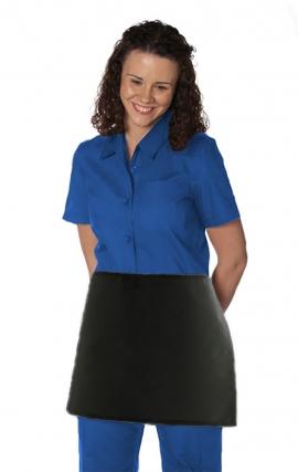 AP387 - MOBB Waist Apron No Pockets - Premium Fabric: 65/35 poly-cotton 7.5oz