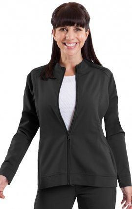 5038 Healing Hands Purple Label Dakota Zipper Front Jacket