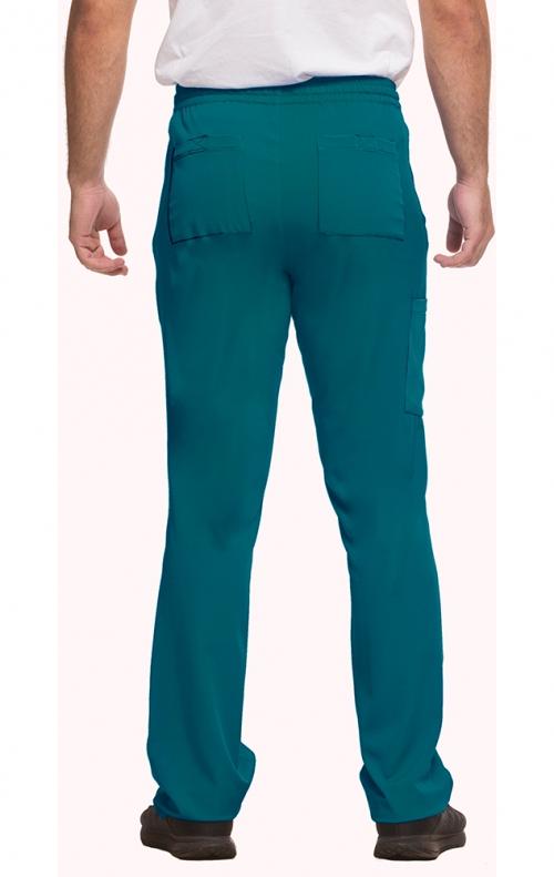 181fd9f7bc3 ... 9590 HH Works by Healing Hands Men's Ryan Slim Leg Elastic Waist Pant  ...