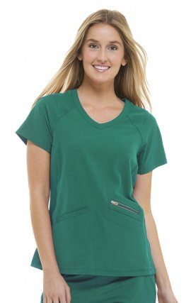 2284 Healing Hands HH360 Serena V-neck Scrub Top