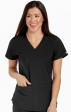 8579 Med Couture Energy Stretch RACERBACK SHIRTTAIL TOP