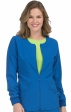8638 Med Couture Energy Stretch ZIP FRONT WARM UP