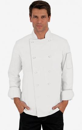 CC250 Classic Chef Coat - Men's View - White