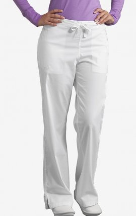 *FINAL SALE 8705 White Med Couture Signature EZ Flex Scrub Pant
