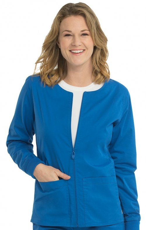 8687 Med Couture Professional Zip Front Warm Up - Cheap ...