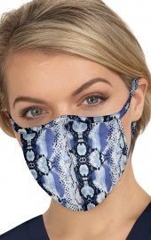 BA157 koi Cloth Scrub Face Mask - Hippie Snake - PM2.5 Replaceable Filter