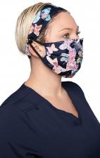 A162 koi Fashion Mask + Headband Set - Scrapbook