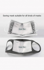 A162 koi Fashion Mask + Headband Set - Splatter Floral - PM2.5 Replaceable Filter