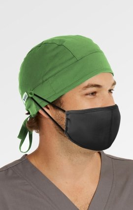 NC015 Maevn Unisex Button Scrub Cap (Surgeon Cap Style)