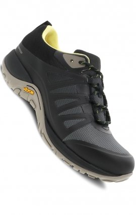 Phylicia Black Mesh by Dansko - Slip-Resistant Vibram Rubber & Waterproof Leather