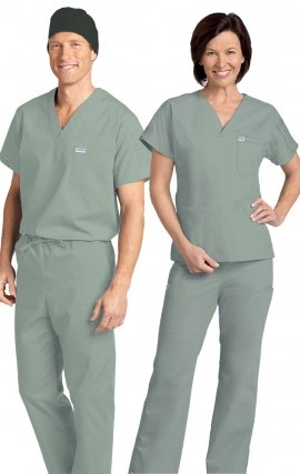 *FINAL SALE 306/306 LAGOON MOBB Classic Scrub Set - Two Piece (Top & Pant)