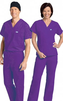 *FINAL SALE 306/306 LILAC MOBB Classic Scrub Set - Two Piece (Top & Pant)