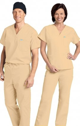 *FINAL SALE 306/306 SAND MOBB Classic Scrub Set - Two Piece (Top & Pant)
