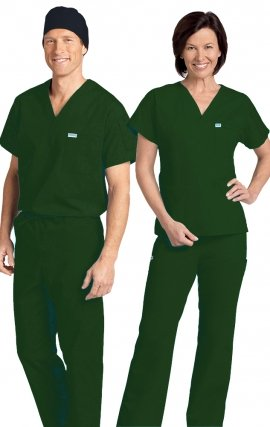 *FINAL SALE 306/306 SPRUCE MOBB Classic Scrub Set - Two Piece (Top & Pant)