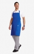AP385 - Adjustable Bib Apron - Black