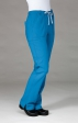 9314 EcoFlex - Women's Full Elastic Scrub Pant Ridiculously Soft and Wrinkle Resistant - Black