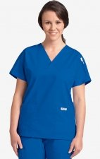 MOBB Classic 3 Pocket Scrub Top - Royal Blue (RO)
